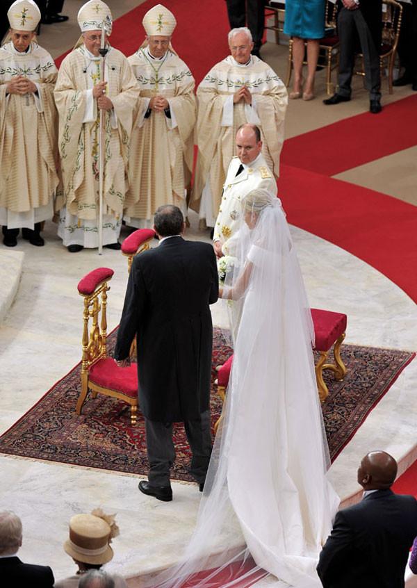 Charlene Wittstock e Princípe Albert II | Casamento | Blog de Casamento | Weddingg | Noiva