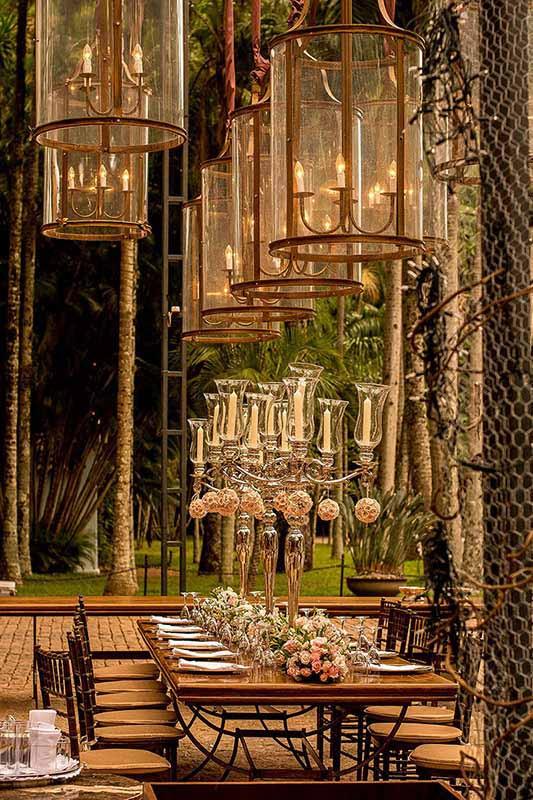 Decoração de Casamento Clássico, Renata chap chap