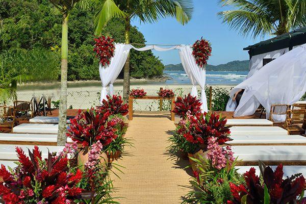 Decoraração de Casamento Praia