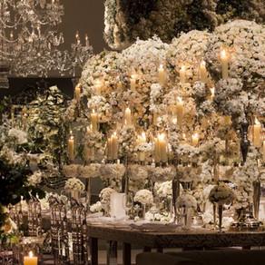 White Wedding Decoration by Nina Nassar