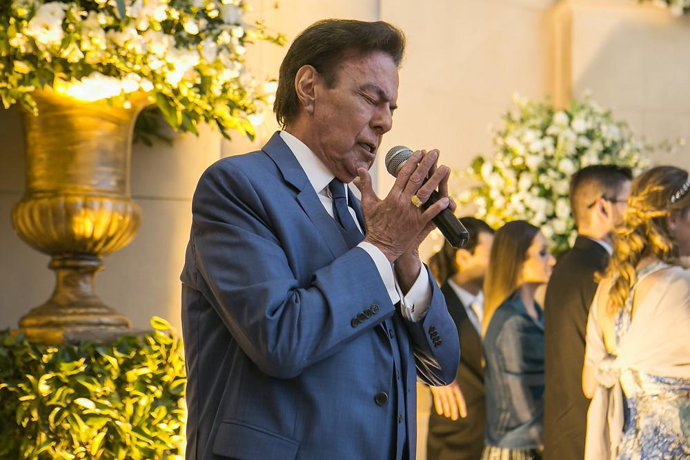 Agnaldo Raiou Cantando no Casamento, Casamento na Capela do Sion. Casamento no Iate Club de Santos