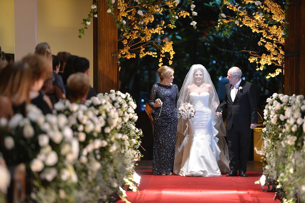 Casamento na Catedral Anglicana. Casamento no Buffet Torres