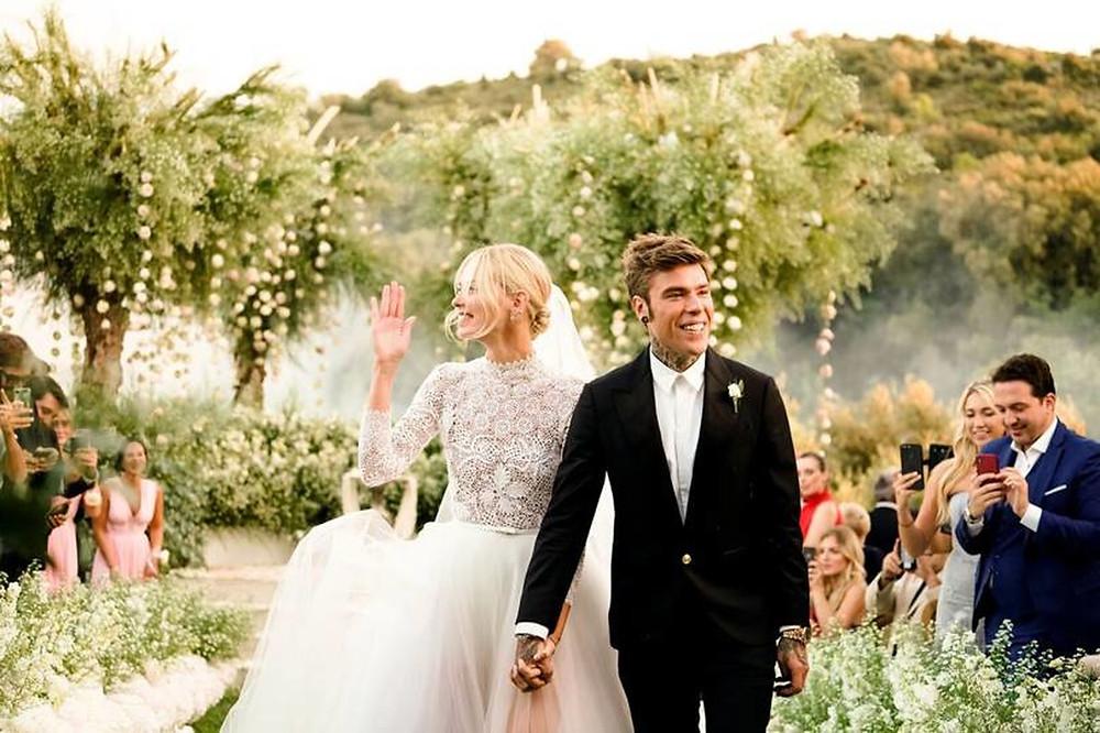 Mariage célèbre: Chiara Ferragni et Fedez