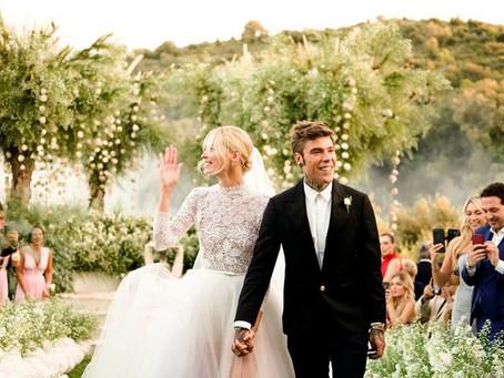 Famous Wedding: Chiara Ferragni and Fedez