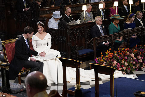 Casamento Real: Princesa Eugenie de York e Jack Brooksbank