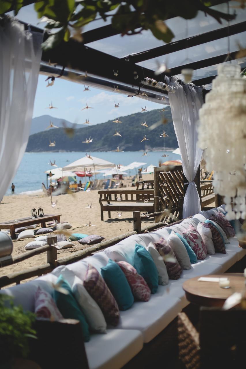 Casamento na Praia. Casamento no Barracuda Beach Bar. Casamento na Praia de Toque toque Pequeno