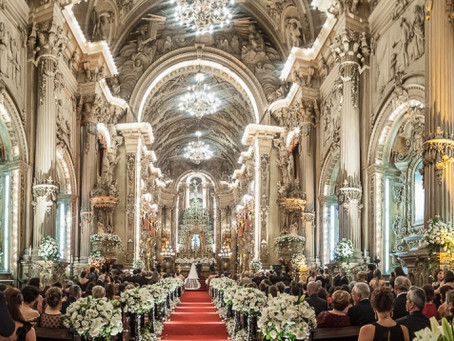 Casamento na Igreja São Francisco de Paula; regras e procedimentos