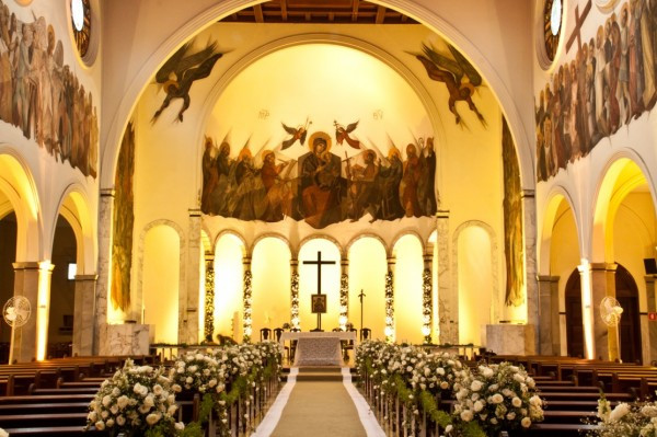 Casamento na Igreja Nossa Senhora do Perpétuo Socorro Jardins