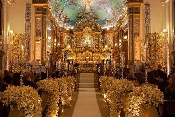 Casamento na Igreja Nossa Senhora do Brasil
