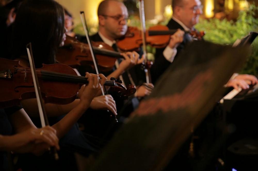 Coral e Orquestra | Baccarelli Elizete Costa |  Músicas para a Cerimonia de Casamento | Blog de Casamento | Weddingg Blog de Casamento