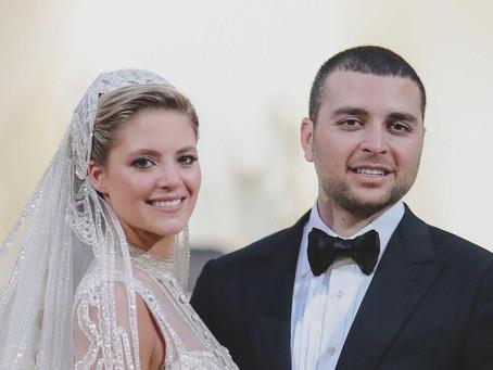 Tout sur le mariage de Elie Saab Jr. et Christina Mourad