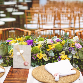 Beach wedding decoration, trends and style by Mara Perez