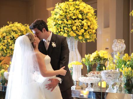 Casamento Clássico: Ana Beatriz e João Philipe no Buffet Torres
