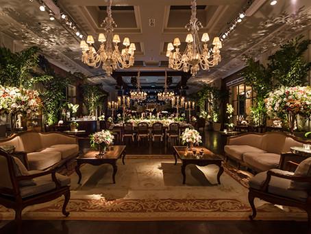 Decoração de Casamento Branco no Jockey Club por MBacellar