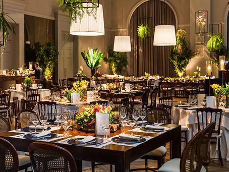 Decoração de Casamento Tropical no Palácio Tangará por Adriana Malouf