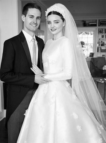 Casamento Famoso: Miranda Kerr