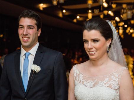 Casamento Clássico:  Julia e Fred no Trio Pergola