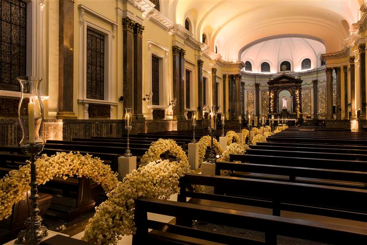 Casamento na Igreja São Luis Gonzaga