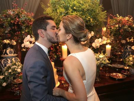 Casamento Clássico: Carolina e Diogo no Espaço Jardim Leopoldina