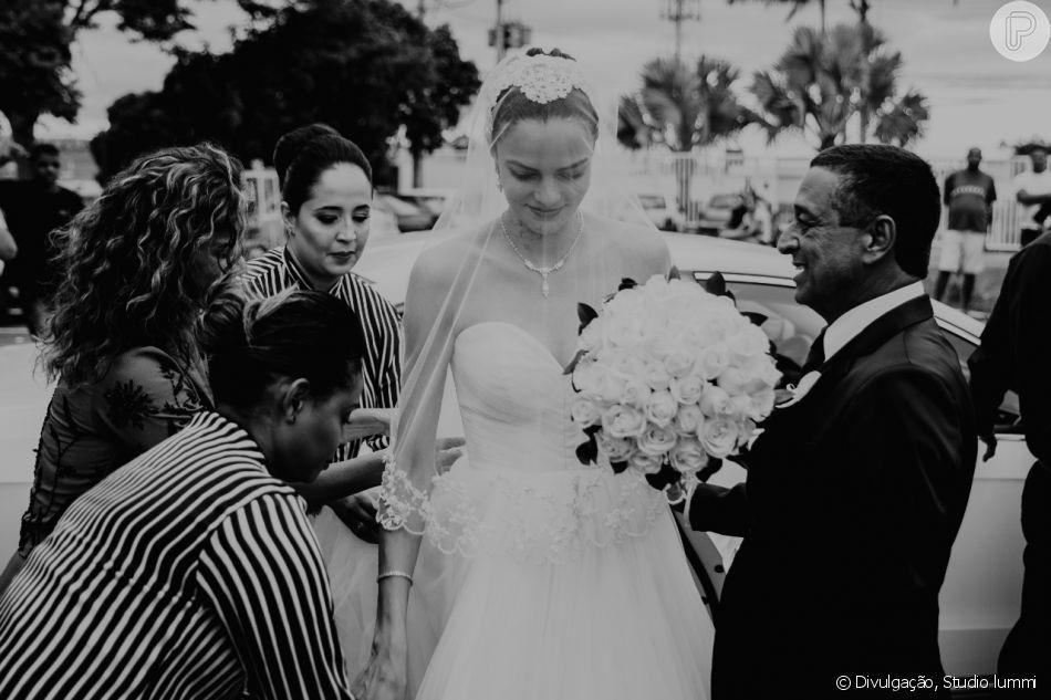 Casamento Famoso: Barbara Fialho e Rohan Marley