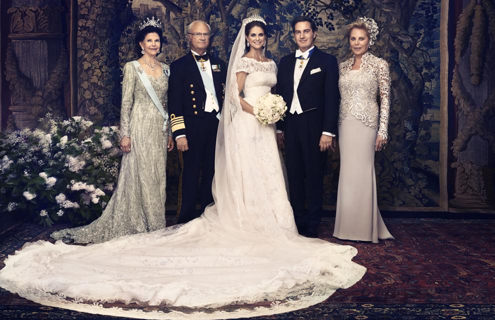 Princesa Madelleine da Suécia com o Inglês Christofer O'nell | Casamento | Blog de Casamento | Weddingg | Noiva