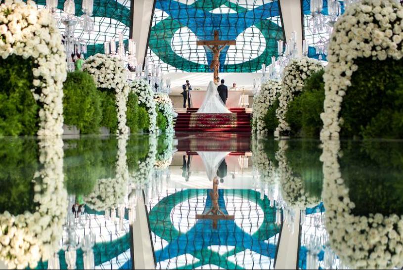 Casamento na Catedral de Brasília