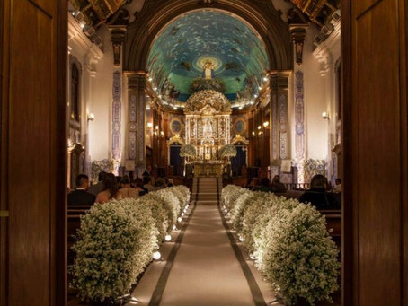 A tradição do Casamento na Igreja Nossa Senhora do Brasil