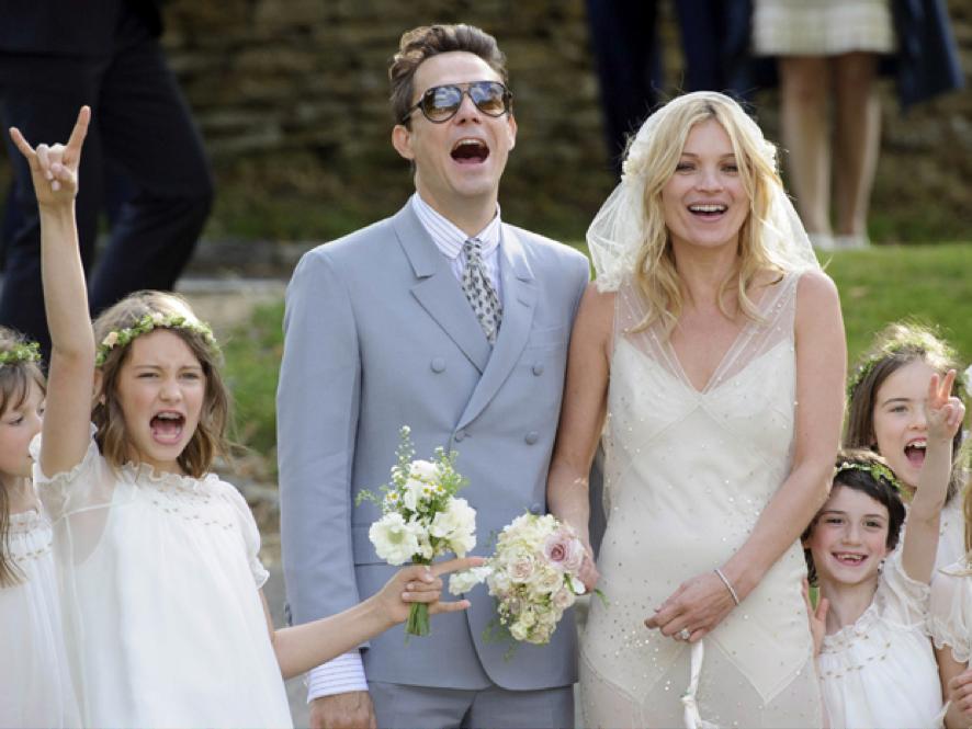 Kate Moss   Casamento   Blog de Casamento   Weddingg   Noiva