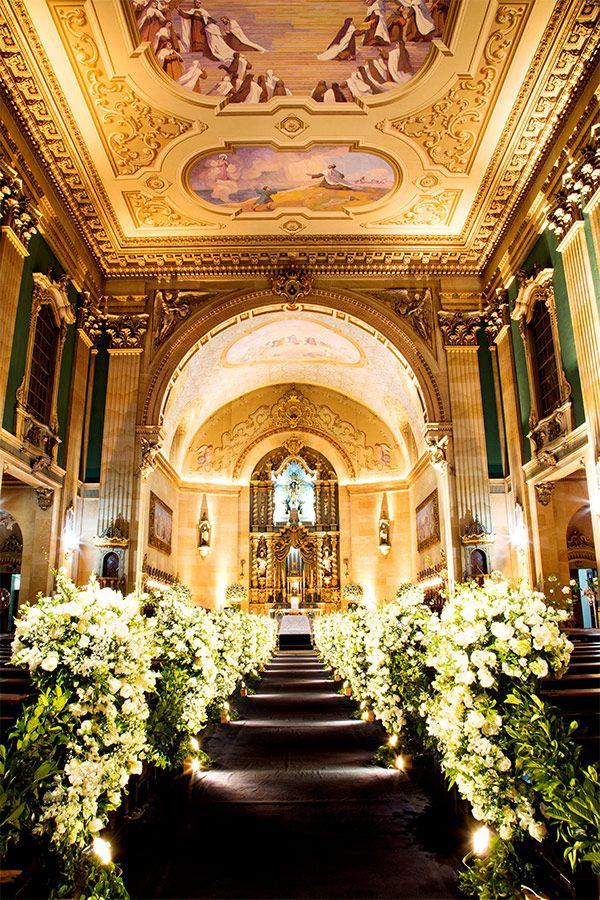 Casamento na Basílica Nossa Senhora do Carmo