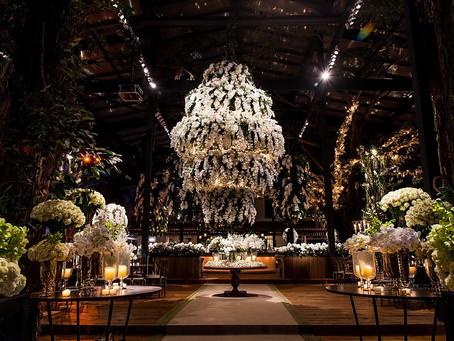 White Wedding Decoration by Renata Chapchap