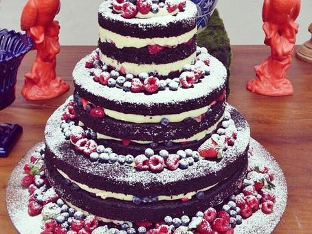 Naked Cake por Carol Melo