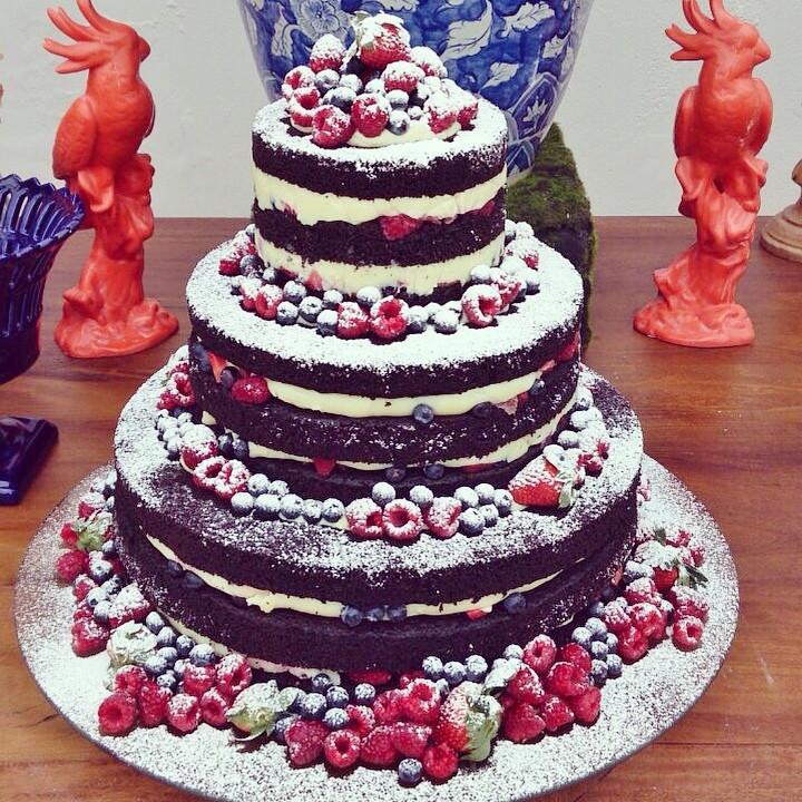 Bolo de Casamento | Carol Melo |  Naked Cake | Blog de Casamento | Weddingg Blog de Casamento
