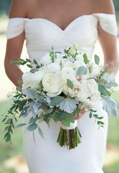 Tendências e inspirações para os Bouquets de Noiva Brancos