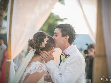 Casamento na Praia: Letícia e Diego no Sea Club