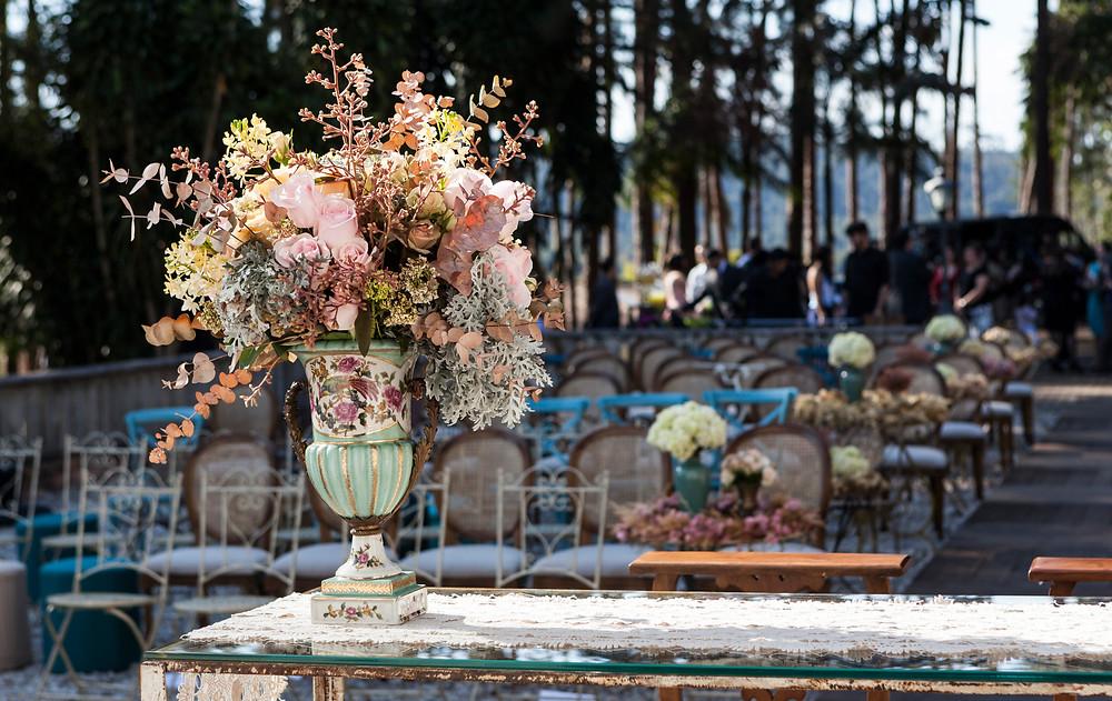 Decoração de casamento rustico por Nina Nassar