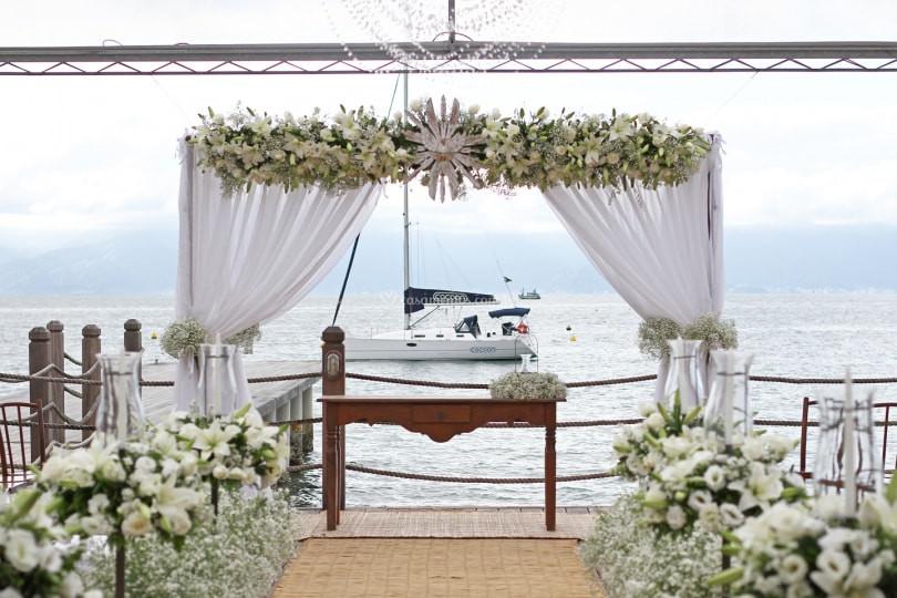 Pier 151 | Casamento na Casamento no Pier 151| Blog de Casamento | Noiva | Espaço para Evento na Praia