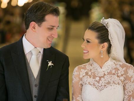 Casamento Clássico: Glenda e Everton no Iate Club de Santos