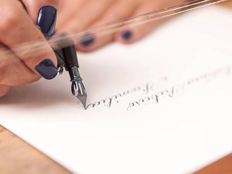 Como escolher a caligrafia