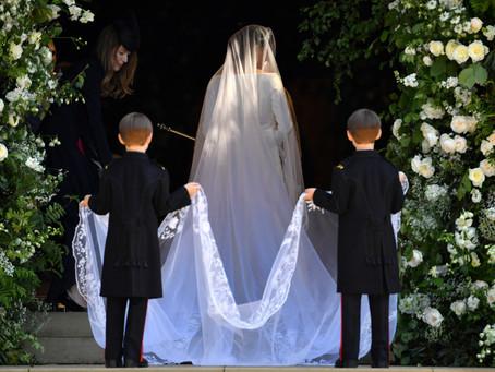 As Daminhas e Pajens de Casamento Príncipe Harry e Meghan