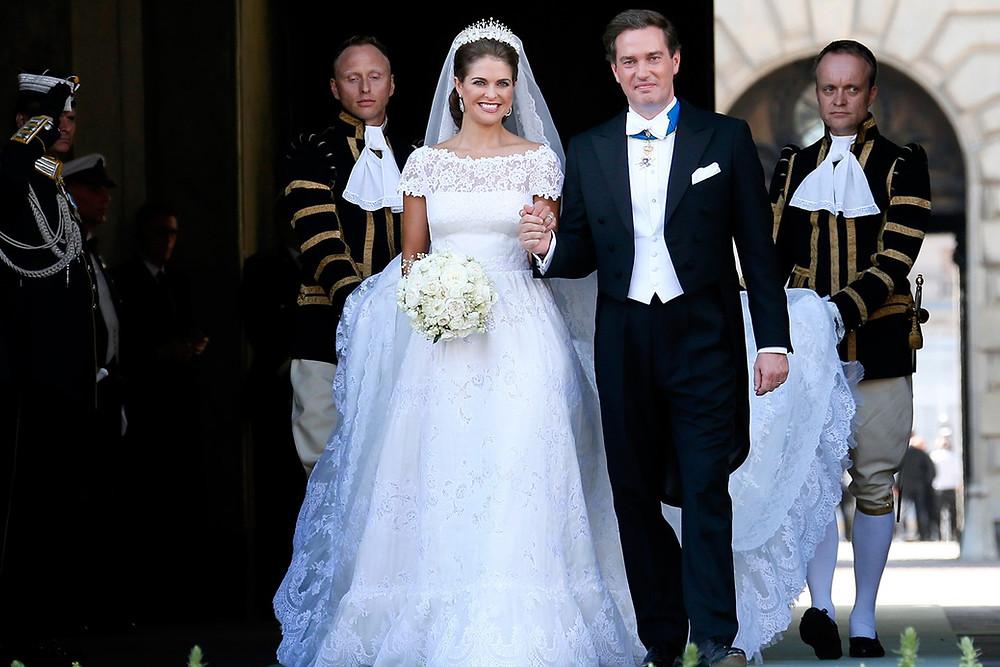 Casamento Real: Princesa Madeleine da Suécia