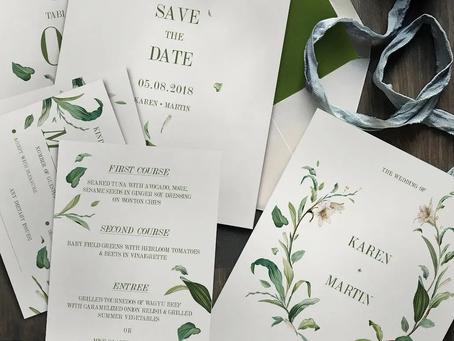 Convite de Casamento Rústico; confira os modelos atuais para te inspirar