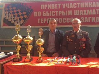 Первый этап Кубка Дагестана по быстрым шахматам на призы Героя России Загида Загидова