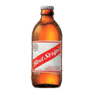 Jamaican Red Stripe Stubby