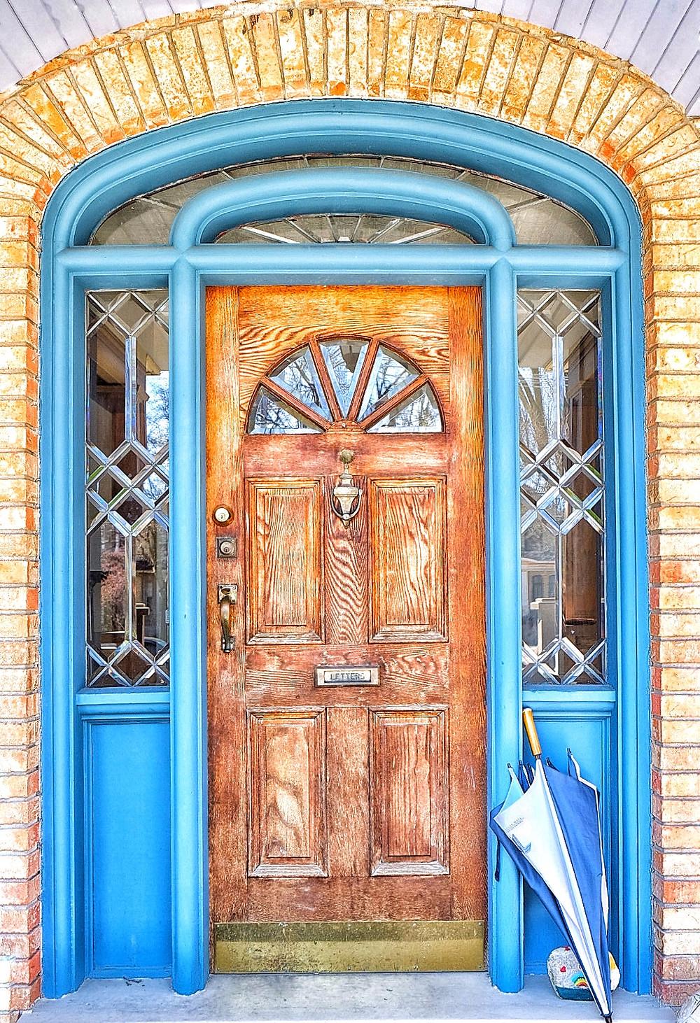 Another gorgeous door in London, Ontario.