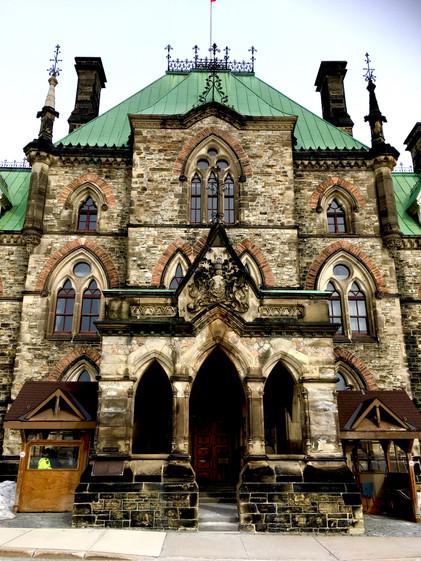 East Block of Canadian Parliament Buildings