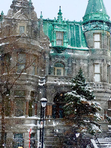 Snowy Montreal