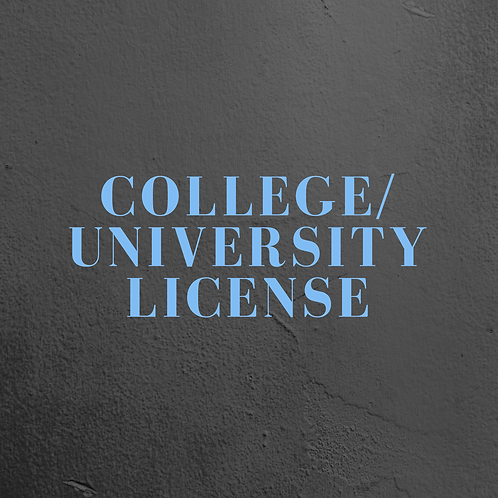 College/University License + DVD + Screening Kit & Discussion Guide