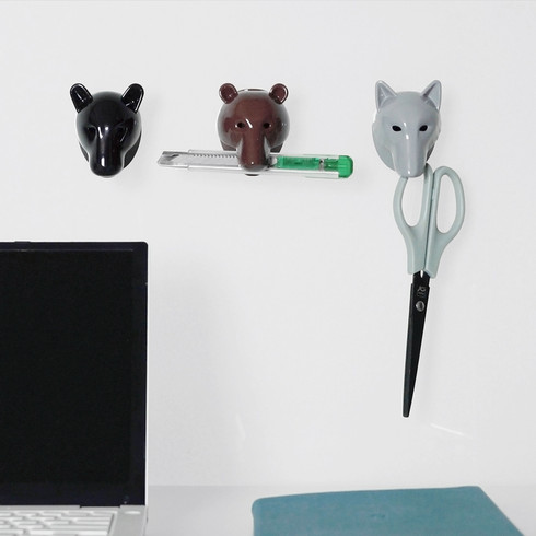 Various types of office supplies are available