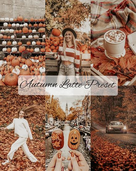 Autumn Latte Preset