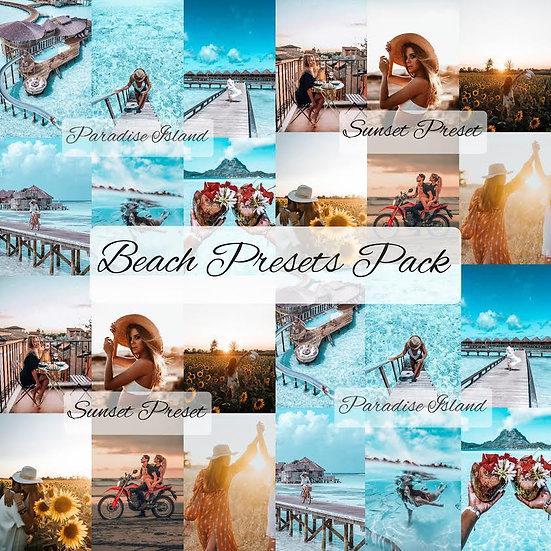 The Beach Preset Pack